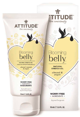 Image of Blooming Belly Stretch Oil Almond & Argan