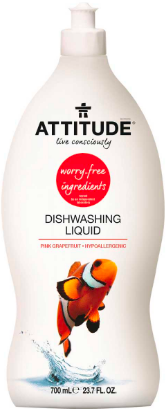 Image of Dishwashing Liquid Pink Grapefruit