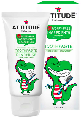 Image of Baby Toothpaste Fluoride Free Strawberry