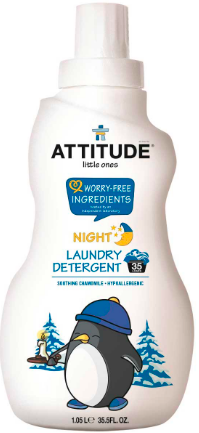 Image of Laundry Detergent 35 Loads for Baby Night Soothing Chamomile