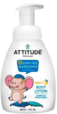 Image of Baby Body Lotion Night Almond Milk