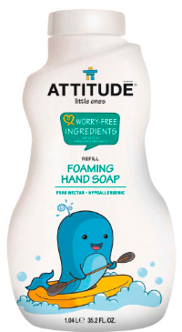 Image of Baby Foaming Hand Soap Refill Pear Nectar
