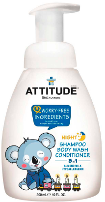 Image of Baby 3-in-1 Shampoo Night Almond Milk