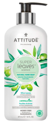 Image of Hand Soap Liquid Olive Leaves