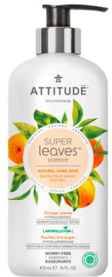 Image of Hand Soap Liquid Orange Leaves