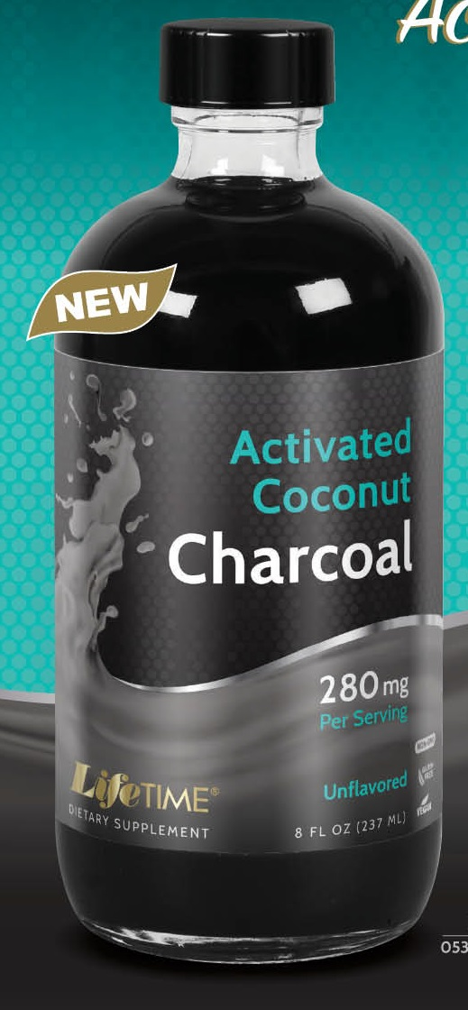 Image of Liquid Activated Coconut Charcoal