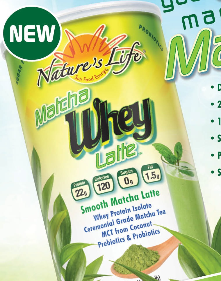 Image of Matcha Whey Latte - Green Tea