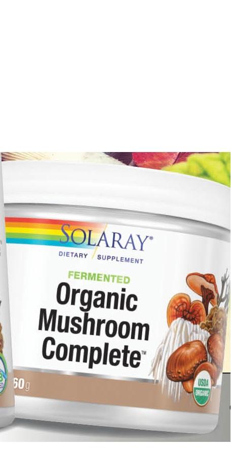 Image of Organic Fermented Mushroom Complete