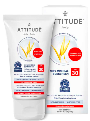 Image of Sun Care 100% Mineral Sunscreen SPF 30 Sensitive Skin