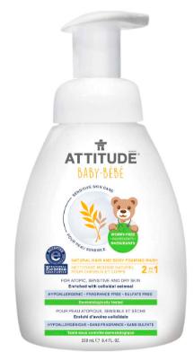 Image of Baby Sensitive Skin 2 in 1 Hair & Body Foaming Wash