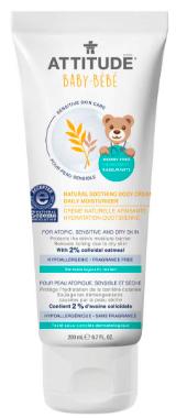 Image of Baby Sensitive Skin Body Cream Daily Moisturizer