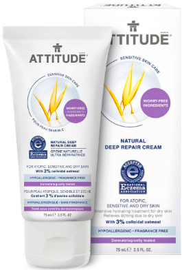 Image of Deep Repair Cream Sensitive Skin