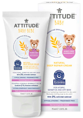 Image of Baby Sensitive Skin Deep Repair Cream