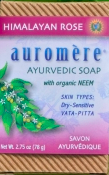 Image of Ayurvedic Bar Soap Himalayan Rose