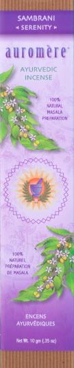 Image of Ayurvedic Incense Sambrani Serenity