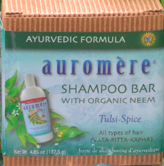 Image of Ayurvedic Shampoo Bar with Neem Tulsi Spice