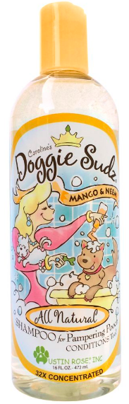 Image of Doggie Sudz Pet Shampoo Mango & Neem