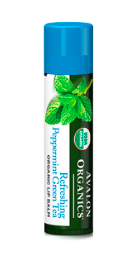 Image of Organic Lip Balm Refreshing Peppermint Green Tea