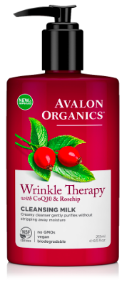 Image of Wrinkle Therapy with CoQ10 & Rosehip Cleansing Milk