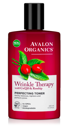 Image of Wrinkle Therapy with CoQ10 & Rosehip Facial Toner