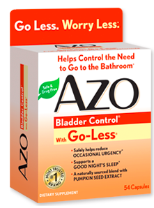 Image of AZO Bladder Control with Go-Less