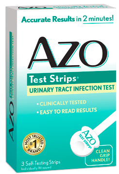 Image of AZO Test Strips (Urinary Tract Infection Test)