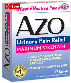 Image of AZO Urinary Pain Relief Maximum Strength