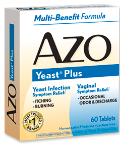 Image of AZO Yeast Plus