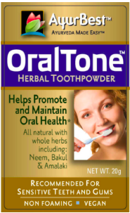 Image of Oral Tone Dental Toothpowder