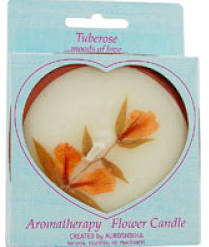Image of Flower Candle Tubrose Round Large