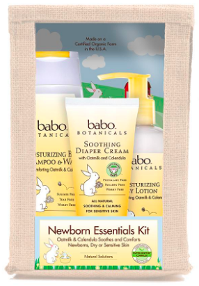 Image of Moisturizing Newborn Essential Gift Set