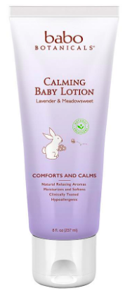 Image of Calming Baby Lotion Lavender & Medowsweet
