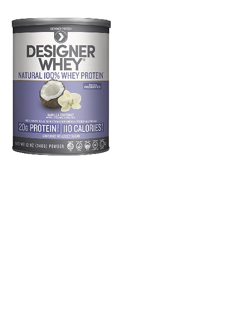 Image of Designer Whey Protein Powder Vanilla Coconut