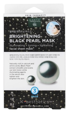 Image of Facial Sheet Mask Brightening Black Pearl