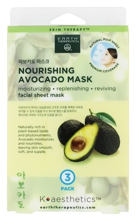 Image of Facial Sheet Mask Nourishing Avocado