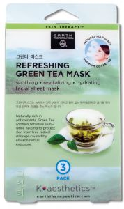 Image of Facial Sheet Mask Refreshing Green Tea