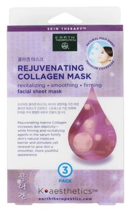 Image of Facial Sheet Mask Rejuvenating Collagen