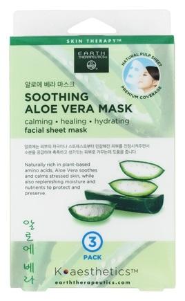 Image of Facial Sheet Mask Soothing Aloe Vera
