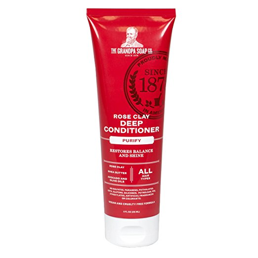 Image of Rose Clay Deep Conditioner