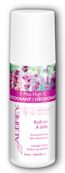 Image of Deodorant Roll-On E Plus High C Lavender