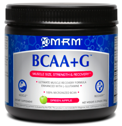Image of BCAA + G Ultimate Recovery Formula Powder Lemonade