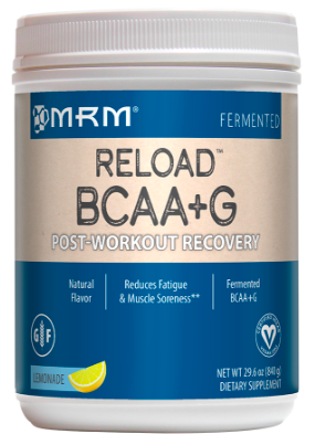 Image of BCAA + G RELOAD (Post Workout Recovery) Powder Lemonade