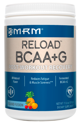 Image of BCAA + G RELOAD (Post Workout Recovery) Powder Island Fusion