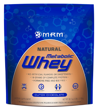 Image of Metabolic Whey Protein Powder Dutch Chocolate
