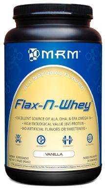 Image of Flax-N-Whey Protein Powder Vanilla