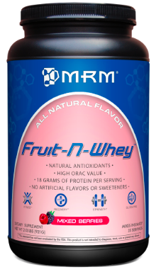 Image of Fruit-N-Whey Protein Powder Mixed Berries