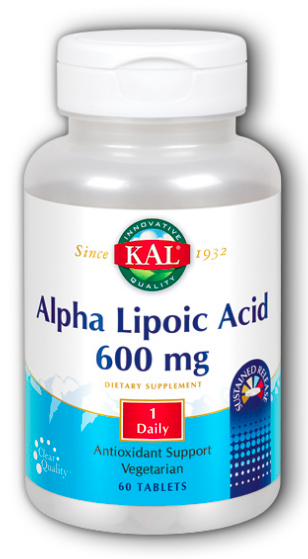 Image of Alpha Lipoic Acid 600 mg SR