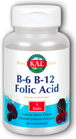 Image of B6 B12 Folic Acid Lozenge Berry