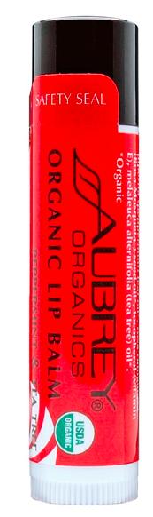 Image of Organic Lip Balm Peppermint & Tea Tree
