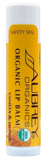 Image of Organic Lip Balm Vanilla Honey